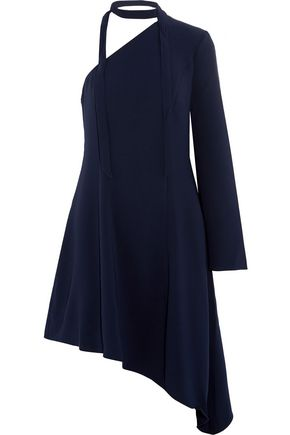 CINQ À SEPT Kierra one-shoulder crepe mini dress