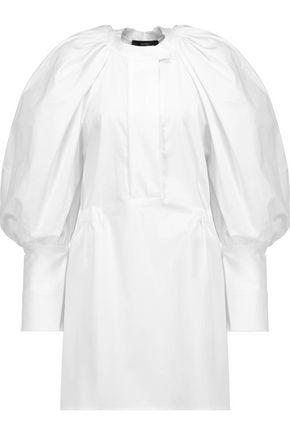 •ELLERY• Medusa stretch cotton-poplin mini shirt dress