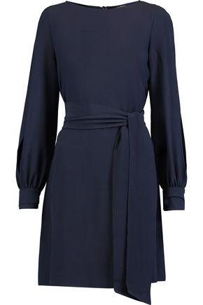 VANESSA SEWARD Christelle belted crepe mini dress