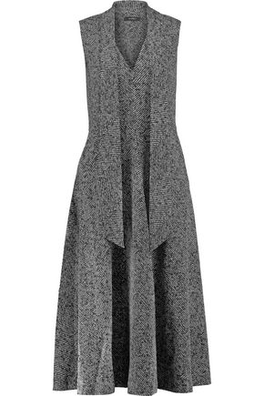 GOEN.J Tweed midi dress