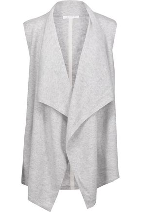 DUFFY Draped cashmere gilet