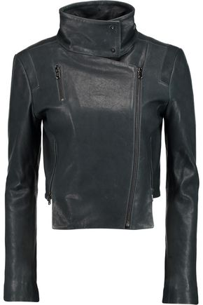 J BRAND Connix leather biker jacket