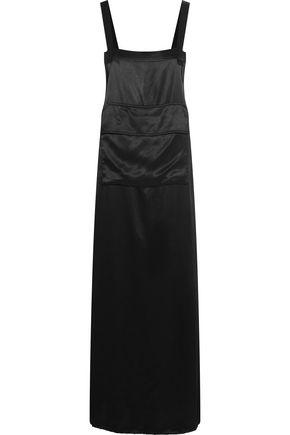 DKNY Satin maxi dress