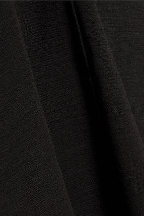 PROENZA SCHOULER Tied flared jersey mini dress