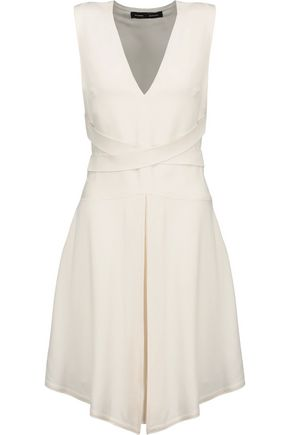 PROENZA SCHOULER Belted crepe dress