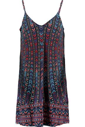 TART Tashi printed stretch-modal mini dress