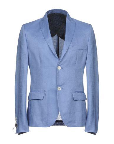 Фото - Мужской пиджак  пастельно-синего цвета