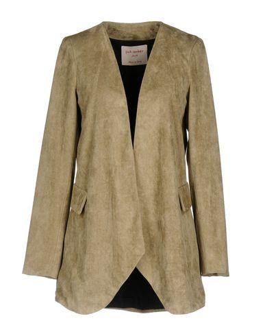 Фото - Женский пиджак PINK AMBER серого цвета