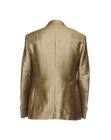 Фото 2 - Мужской пиджак  бежевого цвета