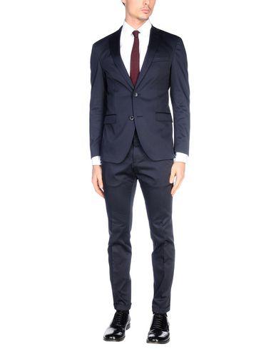 Фото - Мужской костюм BOSS BLACK темно-синего цвета