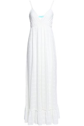 MELISSA ODABASH Tara fluted crocheted maxi dress