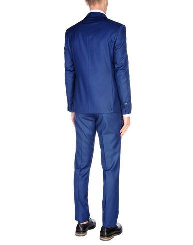 Фото 2 - Мужской костюм DOMENICO TAGLIENTE синего цвета