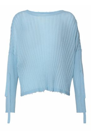 HELMUT LANG Ribbed cashmere sweater
