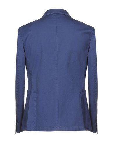 Фото 2 - Мужской пиджак DOMENICO TAGLIENTE грифельно-синего цвета