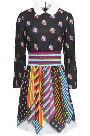 MARY KATRANTZOU Printed cotton mini dress