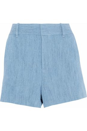 ALICE + OLIVIA Chambray mini shorts
