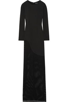 HANEY Josephine jersey and stretch-knit gown