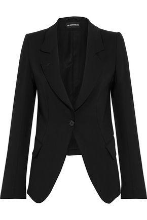 ANN DEMEULEMEESTER Wool-twill blazer