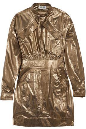 KENZO Metallic cotton mini dress