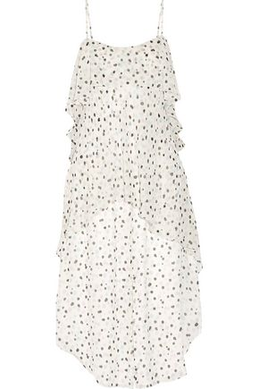 MAIYET Fluid Wave printed silk-crepon midi dress