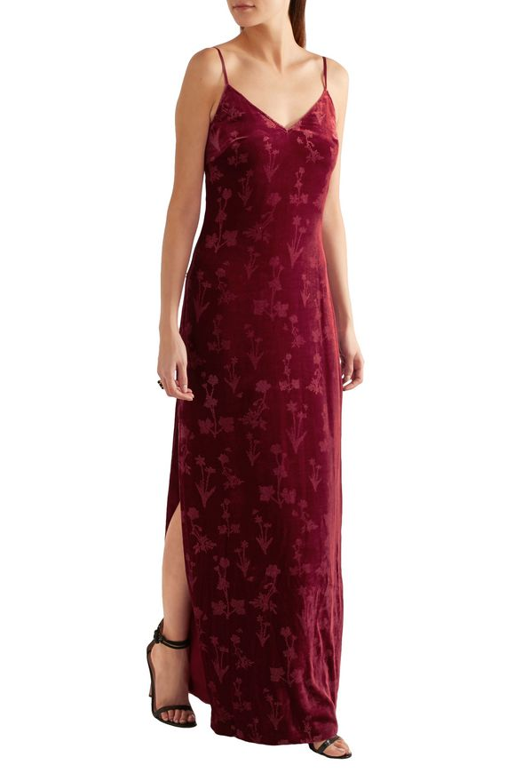 Valerie glittered velvet gown | ELIZABETH AND JAMES | Sale up to 70% off |  THE OUTNET