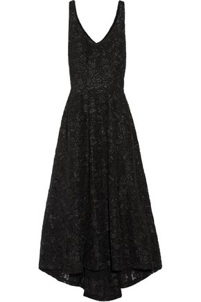 CO Asymmetric lace gown