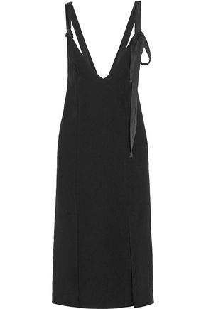 BY MALENE BIRGER Geronia satin-trimmed crepe midi dress