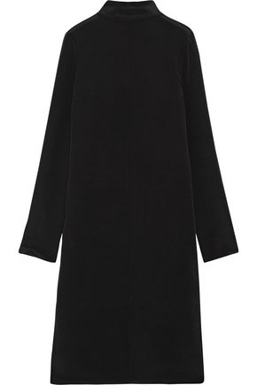 TIBI Tie-back silk dress