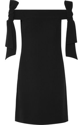 TIBI Off-the-shoulder crepe mini dress