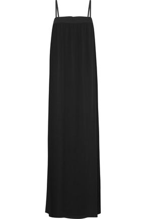 VINCE. Silk-crepe maxi dress