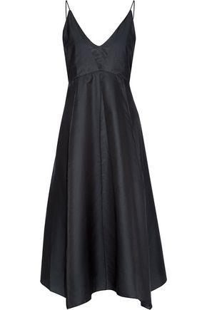 LEMAIRE Asymmetric cotton and silk-blend dress
