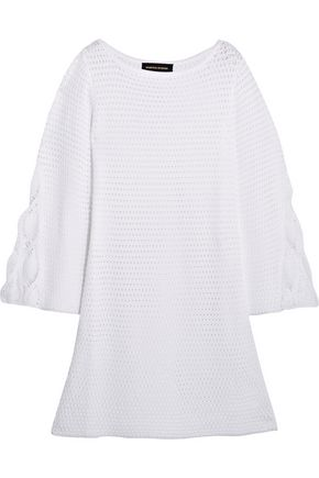 VANESSA SEWARD Dea crocheted cotton mini dress