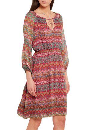 DIANE VON FURSTENBERG Parry printed silk-chiffon dress