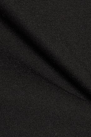 THEORY Leainna Fixture Pont one-shoulder stretch-jersey mini dress