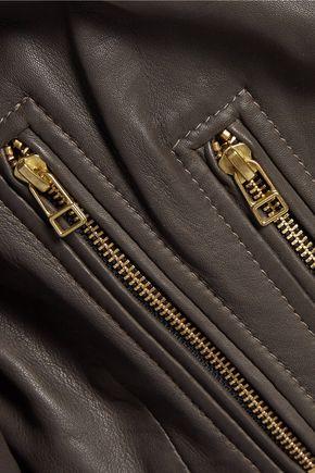 MUUBAA Harrier leather biker jacket