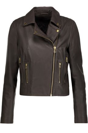 MUUBAA Harrier leather biker jacket