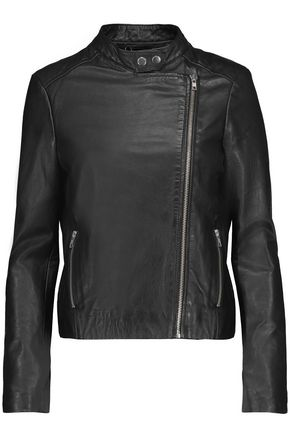 MUUBAA Draco leather biker jacket
