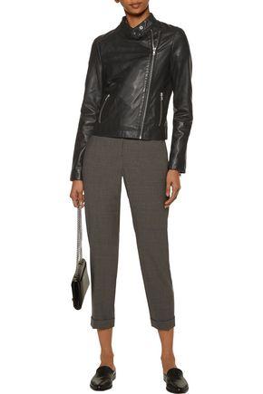 MUUBAA Draco leather biker jacket