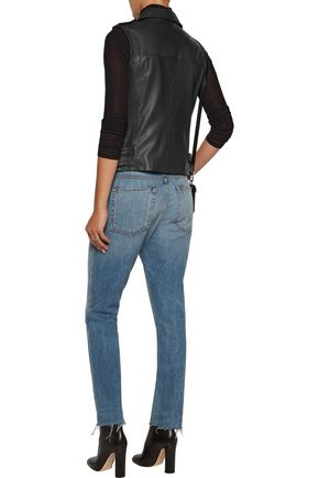 MUUBAA Carina leather biker vest