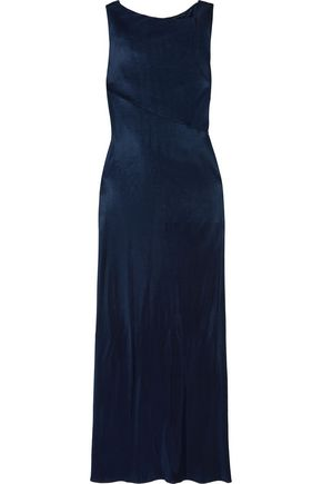 ATLEIN Open-back draped jersey gown