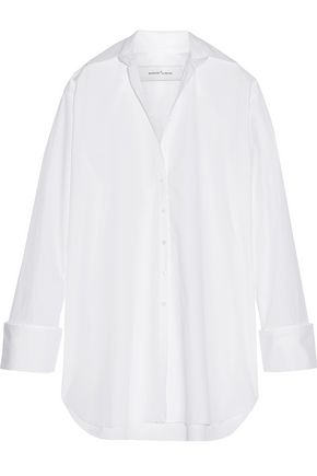MARQUES ALMEIDA Oversized cotton-poplin shirt dress