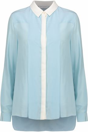 VIONNET Silk-georgette blouse