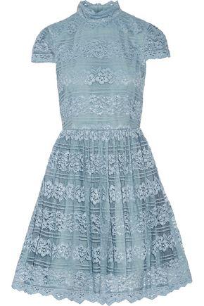ALICE+OLIVIA Maureen lace mini dress