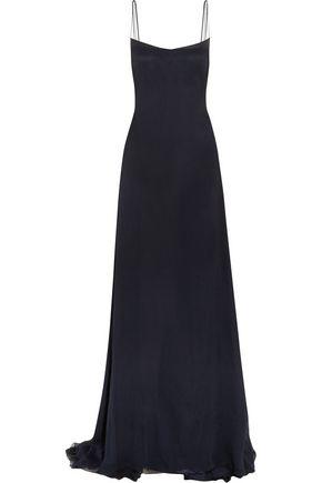 ESTEBAN CORTAZAR Silk-chiffon gown