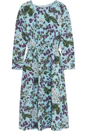 J.CREW Juntos printed silk-crepe dress