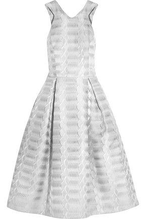 MARY KATRANTZOU Laguna metallic jacquard dress