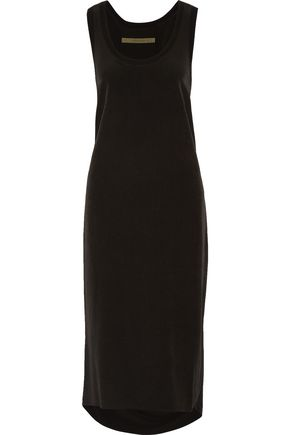 ENZA COSTA Pleated voile midi dress