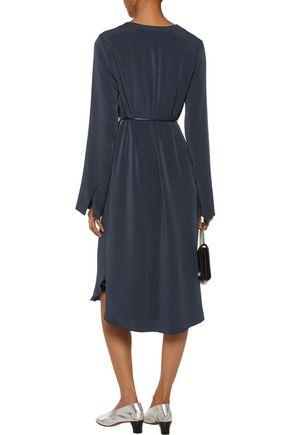 JOSEPH Reeve belted crepe dress