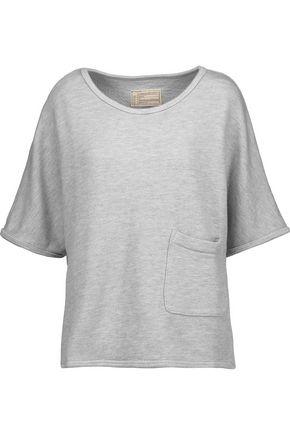 CURRENT/ELLIOTT The Painter cotton-blend top
