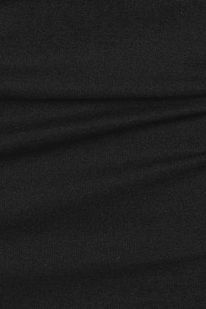 MICHELLE MASON Holster cutout ponte dress